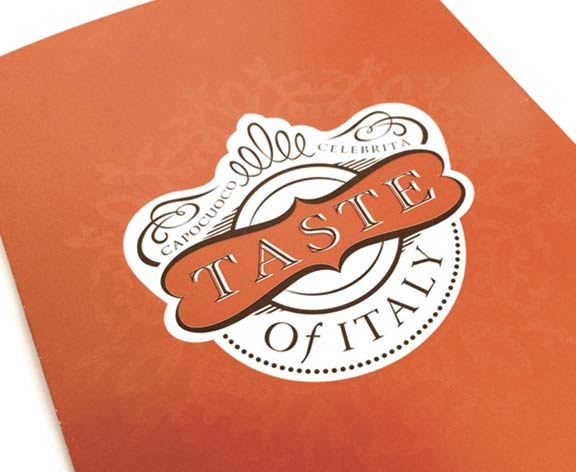 Taste of Italy event logo